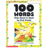 100 WORDS KIDS NEED TO READ BY 2ND - Honor Roll Childcare Supply