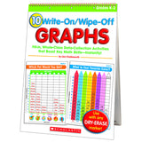 10 WRITE ON WIPE OFF GRAPHS FLIP - Honor Roll Childcare Supply