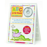 ABC SING ALONG FLIP CHART & CD - Honor Roll Childcare Supply