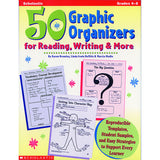 50 GRAPHIC ORGANIZERS FOR READING - Honor Roll Childcare Supply