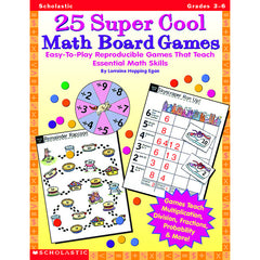 25 SUPER COOL MATH BOARD GAMES - Honor Roll Childcare Supply
