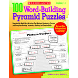 100 WORD BUILDING PYRAMID PUZZLES - Honor Roll Childcare Supply