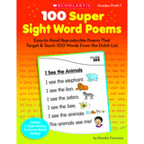 100 SUPER SIGHT WORD POEMS - Honor Roll Childcare Supply