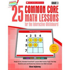 25 COMMON CORE GR 3 MATH LESSONS - Honor Roll Childcare Supply