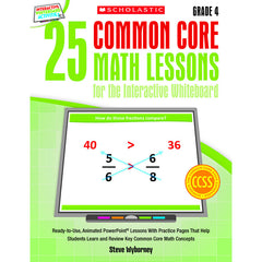 25 COMMON CORE GR 4 MATH LESSONS - Honor Roll Childcare Supply