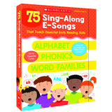 75 SING ALONG E-SONGS THAT TEACH - Honor Roll Childcare Supply