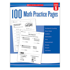 100 MATH PRACTICE PAGES GR 1 - Honor Roll Childcare Supply