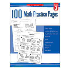 102 MATH PRACTICE PAGES GR 3 - Honor Roll Childcare Supply