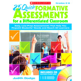 25 QUICK FORMATIVE ASSESSMENTS FOR - Honor Roll Childcare Supply