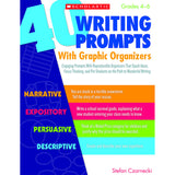 40 WRITING PROMPTS WITH GRAPHIC - Honor Roll Childcare Supply