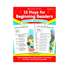 15 PLAYS FOR BEGINNING READERS - Honor Roll Childcare Supply