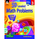 50 LEVELED MATH PROBLEMS LEVEL 3 - Honor Roll Childcare Supply