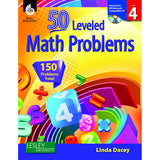 50 LEVELED MATH PROBLEMS LEVEL 4 - Honor Roll Childcare Supply