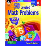 50 LEVELED MATH PROBLEMS LEVEL 5 - Honor Roll Childcare Supply