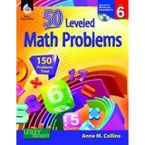 50 LEVELED MATH PROBLEMS LEVEL 6 - Honor Roll Childcare Supply