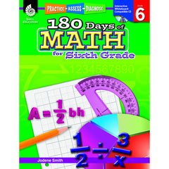 180 DAYS OF MATH GR 6 - Honor Roll Childcare Supply