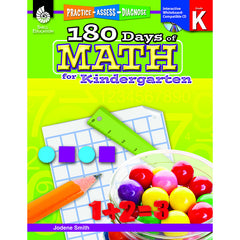 180 DAYS OF MATH GR K - Honor Roll Childcare Supply