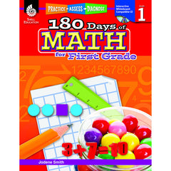 180 DAYS OF MATH GR 1 - Honor Roll Childcare Supply