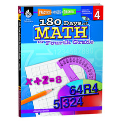 180 DAYS OF MATH GR 4 - Honor Roll Childcare Supply