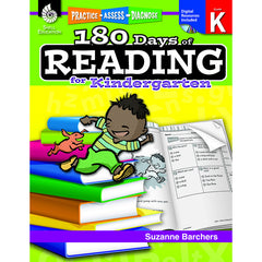 180 DAYS OF READING BOOK FOR - Honor Roll Childcare Supply
