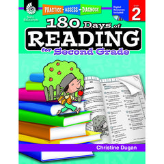 180 DAYS OF READING BOOK FOR SECOND - Honor Roll Childcare Supply