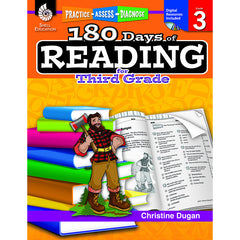 180 DAYS OF READING BOOK FOR THIRD - Honor Roll Childcare Supply