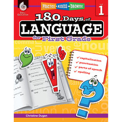 180 DAYS OF LANGUAGE GR 1 - Honor Roll Childcare Supply