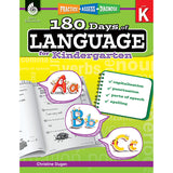 180 DAYS OF LANGUAGE GR K - Honor Roll Childcare Supply