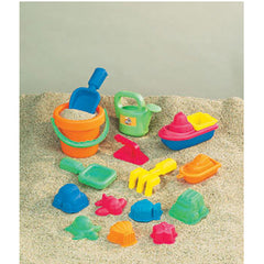 15-PIECE TODDLER SAND ASSORTMENT - Honor Roll Childcare Supply