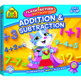 ADDITION & SUBTRACTION FLASH ACTION - Honor Roll Childcare Supply
