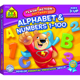ALPHABET & NUMBERS 1-100 FLASH - Honor Roll Childcare Supply
