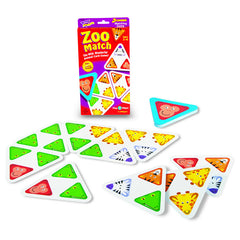 3 CORNER MATCHING GAMES ZOO MATCH - Honor Roll Childcare Supply