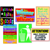 ATTITUDE MATTERS POSTERS COMBO PACK - Honor Roll Childcare Supply