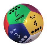 6IN THUMBALLS - NUMBERS BALL - Honor Roll Childcare Supply