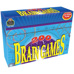 200 BRAIN GAMES GAME - Honor Roll Childcare Supply