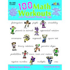 100 MATH WORKOUTS GR 6-8 - Honor Roll Childcare Supply