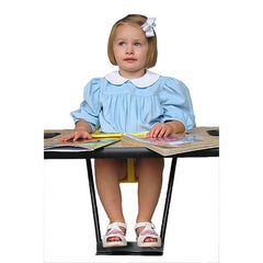 Toddler Feeding Table Metal Foot Support - Honor Roll Childcare Supply