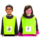 ACTIVE LEARNING VESTS 6PK - Honor Roll Childcare Supply