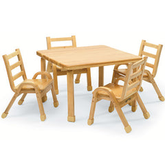 "30"" Square NaturalWood™ Table - Honor Roll Childcare Supply"