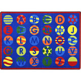 Alphabet Patterns™ Carpets - Honor Roll Childcare Supply