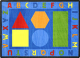 ALPHABET SHAPES ™ Carpets - Honor Roll Childcare Supply