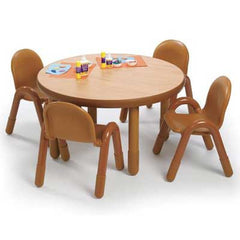 "36"" Round BaseLine® Tables - Honor Roll Childcare Supply"