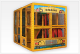 Tot Town™ Contained Play School Bus - Honor Roll Childcare Supply