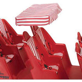 Bye-Bye Buggy® Red/White Canopy - New Style
