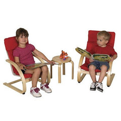 Bentwood Comfort Chair Set with Table - Honor Roll Childcare Supply