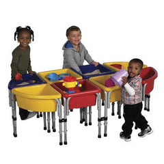 8 Station Sand & Water Play Table with Lids - Honor Roll Childcare Supply