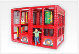 Tot Town™ Contained Play Fire Engine - Honor Roll Childcare Supply