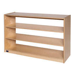 "30"" High Three-Shelf Storage, Open Storage - Honor Roll Childcare Supply"