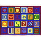 Letters Count™ Carpets - Honor Roll Childcare Supply