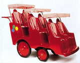 Bye-Bye Buggy® Red/White Canopy - Old Style - Honor Roll Childcare Supply